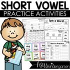 Short Vowel Practice {BUNDLED}