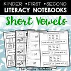 Short Vowel Printables for K-2 Journals