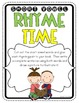 Short Vowel Rhyme Time Book