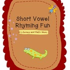 Short Vowel Rhyming Fun Sorts