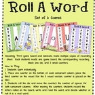 Short Vowel Roll A Word Games - Bug Theme 