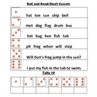 Short Vowel-Roll and Read!