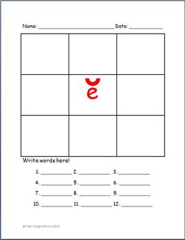 Short Vowel Sound Phonics Open Ended Worksheets