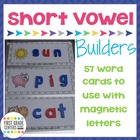 Short Vowel Word Building Mats