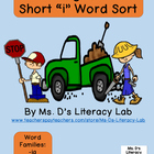 Short Vowel Word Sort--Transportation