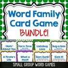 Short Vowel and Long Vowel Game combo pack of 3 CCSS