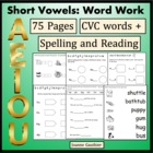 Short Vowels Phonics Practice
