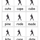 Short and Long Vowel Baseball Game