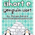 Short e Penguin Word Sort