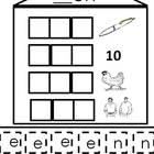 Short e Word Families - a word building activity