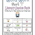 Short i Literacy Station Word Work