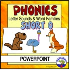 Short o Sound - Sounding Out Words