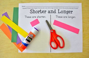 Shorter and Longer Measurement Common Core K.MD.2