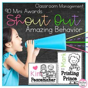 Shout Outs! {Recognizing Amazing Students}