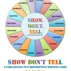 Show Don't Tell Descriptive Writing Game