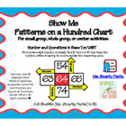 Show Me Patterns on a Hundred Chart Common Core