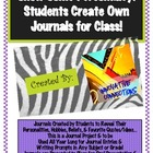 Show Some Personality: Personalized Student Journal for Pr