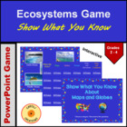 Show What You Know About Maps &amp; Globes Review Game