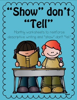 Show don't tell worksheet