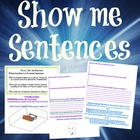 Show me Sentences (descriptive writing)