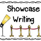 Showcase Writing Process Anchor Chart