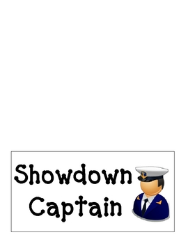 Showdown Captain team card