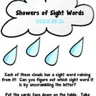Showers of Sight Words (Dolch Pre-Primer Words)