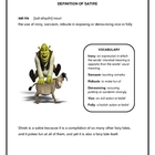 Shrek and Satire Five Paragraph Essay