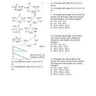 Side-Side-Side Triangle Similarity Worksheet