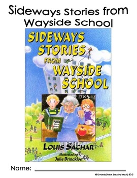 Sideways Stories From Wayside School Novel Packet