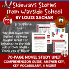 Sideways Stories from Wayside School Comprehension Guide