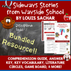 Sideways Stories from Wayside School Reading Activities Su