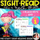 Sight-Read Like A Rockstar! {Part 1 of 10: 2 Black Keys; H