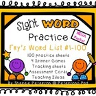 Sight WORD Practice Packet MEGA BUNDLE {Fry's Word List 1-100}