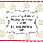 Sight Word Activities {List 1 from Fry List}