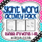 Sight Word Activities MEGA PACKET