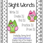 Sight Word Activities-Over 220 Sight Words