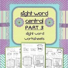 Sight Word Activity PART 3