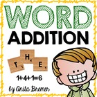 Sight Word Addition