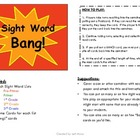 Sight Word BANG!