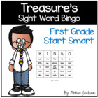 Sight Word Bingo Start Smart Macmillan/McGraw-Hill Treasur