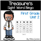 Sight Word Bingo Unit 2 Macmillan/McGraw-Hill Treasures Fi