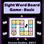 Sight Word Board Game - Basic