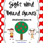 Sight Word Board Games  {Dolch Word Lists 1-11}