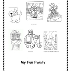 Sight Word Book (My Fun Family)