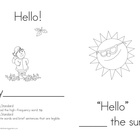 Sight Word Book Set 1