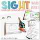Sight Word Books-Printable Books to Build Sight Word Vocabulary