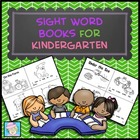 Sight Word Books for Kindergarten