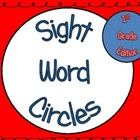 Sight Word Circles: 1st Grade Edition