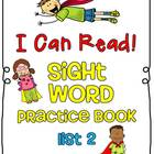 Sight Word (Dolch) Practice Book List 2